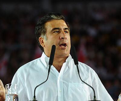 """Saakaşvili """"konuşacak yer"""" bulamadı"""