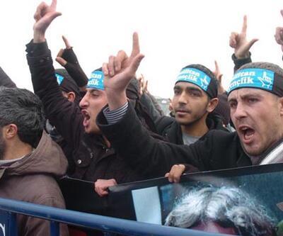 Mirzabeyoğlu taraftarlarına müdahale