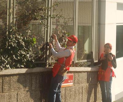 İşçiler kendilerini TOBB binasına zincirledi