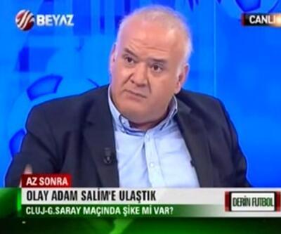 Ahmet Çakar canlı yayını terketti!