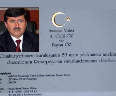 Amasya'da 29 Ekim krizi
