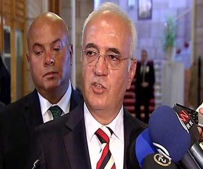 """Mustafa Elitaş: """"Tarih önemli değil, sonuç önemli"""""""