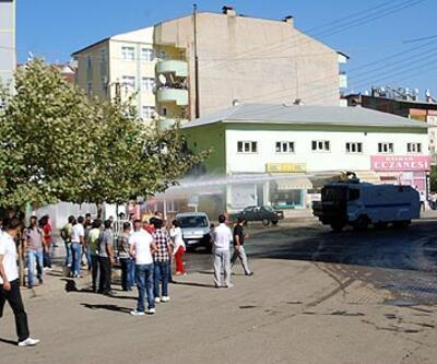 BDP yürüyüşüne müdahale