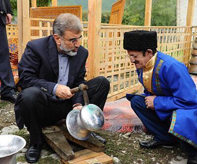 Azerbaycan ziyaretinden renkli kareler...