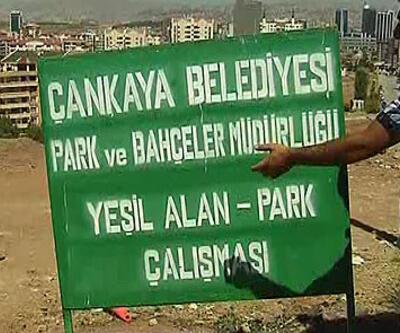 Başkentte 2 belediye arasında park kavgası!