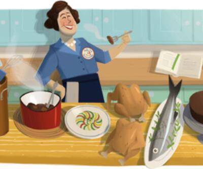 Google'dan ABD'nin ünlü aşçısı için doodle