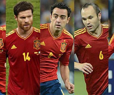 İspanya'da 7 futbolcu 3 finalde de oynadı