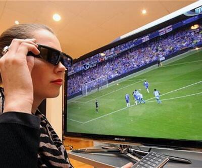 Londra Olimpiyatları 3D yayınlanacak