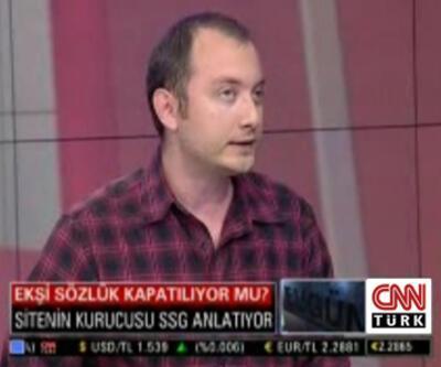 Ekşisözlük'ün SSG'si CNN TÜRK'e konuştu