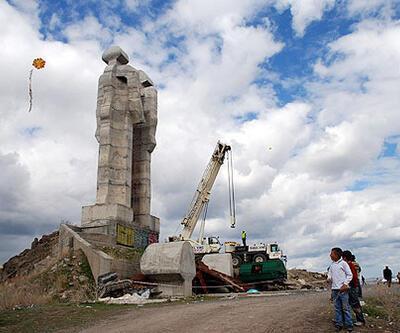"""""""İnsanlık Anıtı"""" kaldırılıyor"""