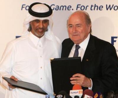"""""""Kış Dünya Kupası""""na Blatter'den destek"""