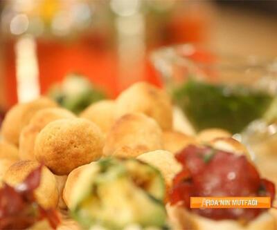 Parmesanlı zeytin topları nasıl hazırlanır?