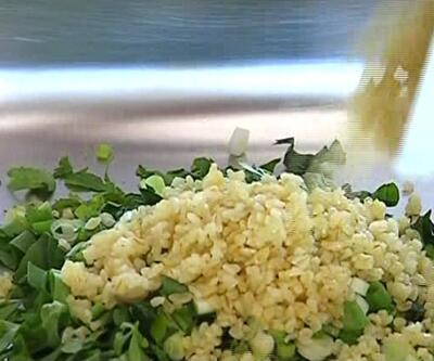 Tabule salatası nasıl yapılır?