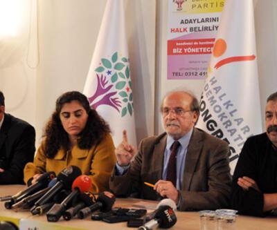 HDP'li vekiler TBMM'de açlık grevine başlayacak