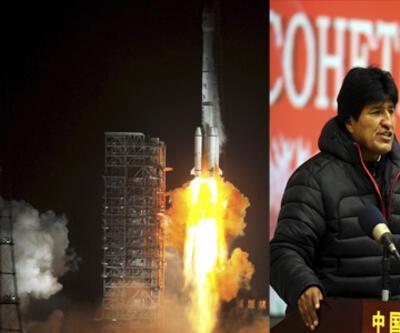 Bolivya'nın ilk uydusu Çin'den fırlatıldı