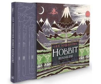 Tolkien'in Hobbit resimleri ilk kez raflarda
