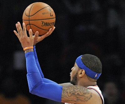 Carmelo Anthony'den 62 sayı!