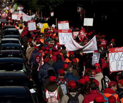 İspanya'da Coca Cola işçileri greve gidiyor