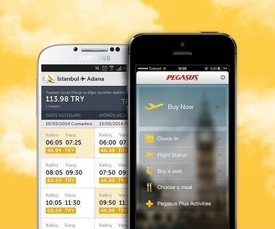 Pegasus Hava Yolları mobil uygulamalarını yeniledi