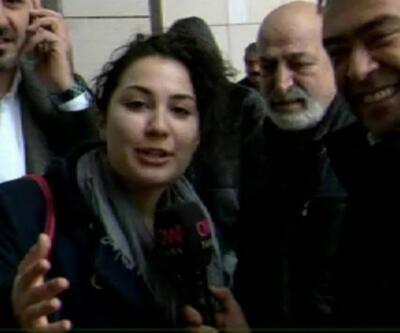 Tuncay Özkan'ın kızı tahliyeyi duydu ve...