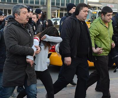 Kızılay'daki Berkin Elvan gösterisine müdahale