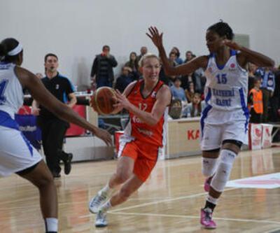 FIBA Kadınlar Avrupa Ligi'nde üç Türk takımı aynı kupada 8'li finalde