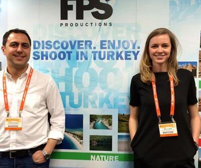 Hollywood yapımcılarına Türkiye'yi tanıttılar