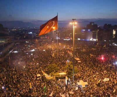 Gezi'ye 25 bin polis 50 TOMA