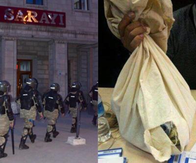 İşte Ağrı'da seçimi iptal ettiren yırtık oy torbası