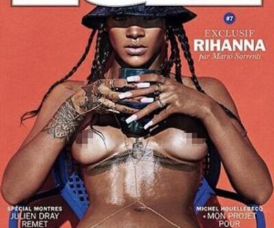 Rihanna'dan olay yaratan pozlar