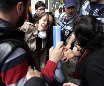 Şafak Pavey'e yaka paça gözaltı girişimi