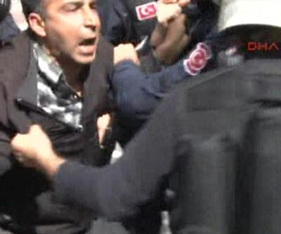 10 polise meydan okudu: Erkekseniz teke tek gelin