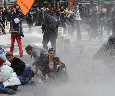 Ankara'da hem bayram havası vardı hem de gaz (video)
