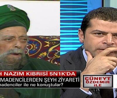 Şeyh Nazım Kıbrısi 5N1K'ya konuk olmuştu