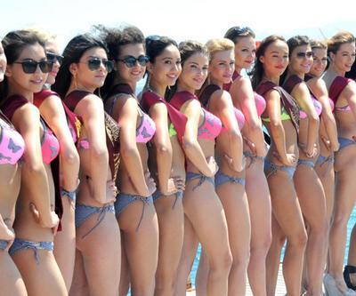 """""""Miss 7 Continents Güzellik Yarışması"""" yapıldı"""