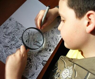 Bu çizimler 11 yaşında bir çocuğa ait!..