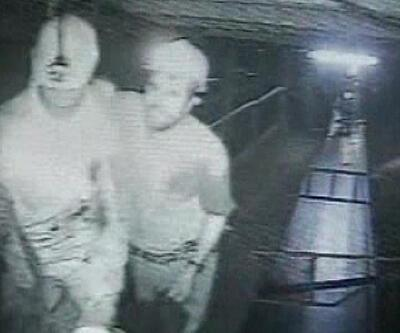 Maden ocağının güvenlik kamerası o anları kaydetti