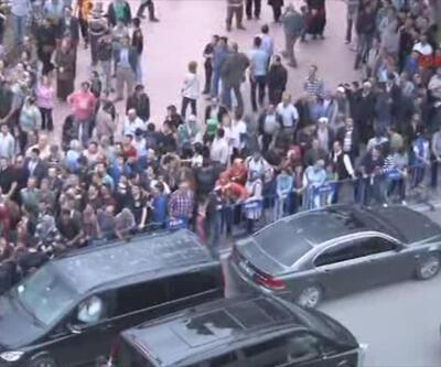 Başbakan Erdoğan'a sert protesto (video)