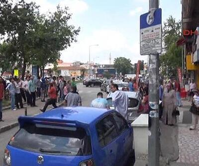 İstanbul'da deprem anı
