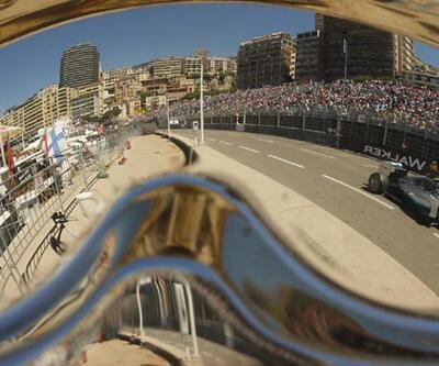 F1 Monaco'da ilk cep Nico Rosberg'in