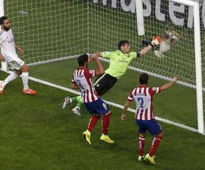 Real Madrid - Atletico Madrid finali caps'leri