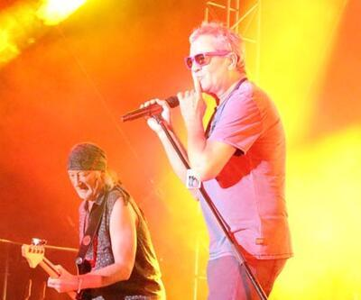 Deep Purple Kıbrıs'ı salladı