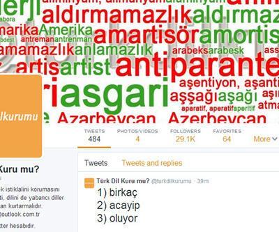 Türk Dil Kurumu'na meydan okuyan Türk Dil Kuru mu?