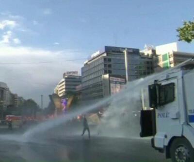 ANKARA'DA POLİS MÜDAHALESİ