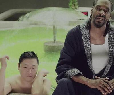 İşte PSY'nin rapçı Snoop Dog ile düet yaptığı yeni klibi