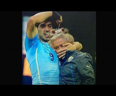 İngiltere - Uruguay maçı caps'leri