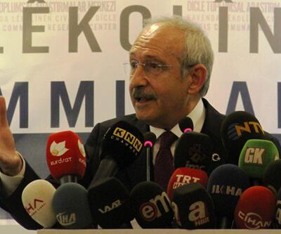 Kılıçdaroğlu Diyarbakırlılara sitem etti