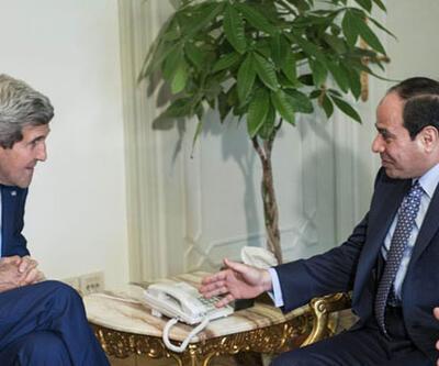 ABD Dışişleri Bakanı John Kerry Mısır'da
