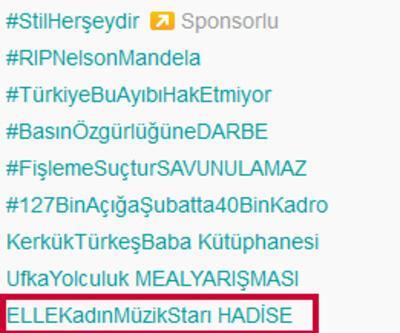 Elle Style'da ödül alan Hadise trend topic oldu