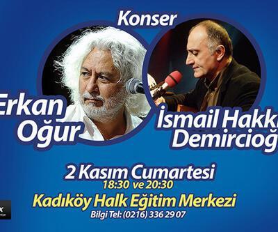 Oğur ve Demircioğlu 2 Kasım'da Kadıköy'de